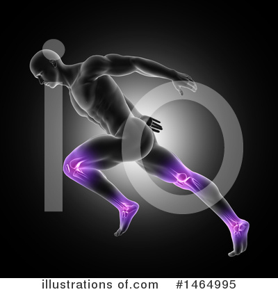 Jogging Clipart #1464995 by KJ Pargeter