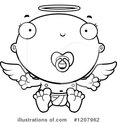 Angel Baby Clipart 1207962