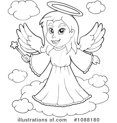 Angel Clipart #1088180 - Illustration by visekart