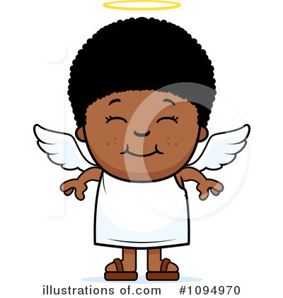 angel clipart 1094970 illustration by cory thoman rh illustrationsof com African American Angel Clip Art angel clipart black and white free