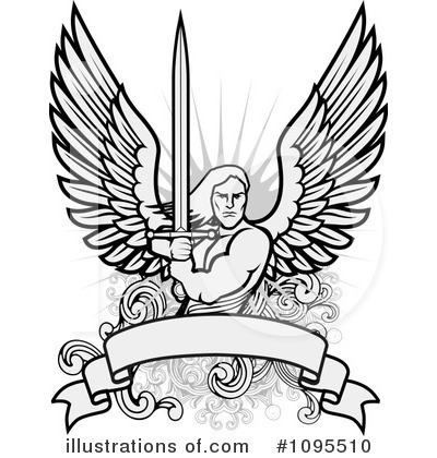 Guardian Angel Clipart #1095510 by BestVector