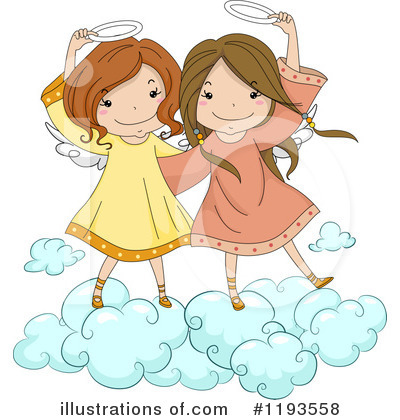 Girl Clipart #1193558 by BNP Design Studio