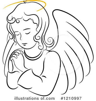 Angel Clipart #1210997 - Illustration by Vector Tradition SM