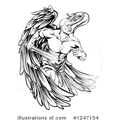 Guardian Angel Clipart #1247154 by AtStockIllustration