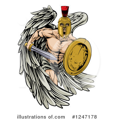Guardian Angel Clipart #1247178 by AtStockIllustration