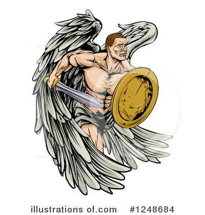 Guardian Angel Clipart #1248684 by AtStockIllustration