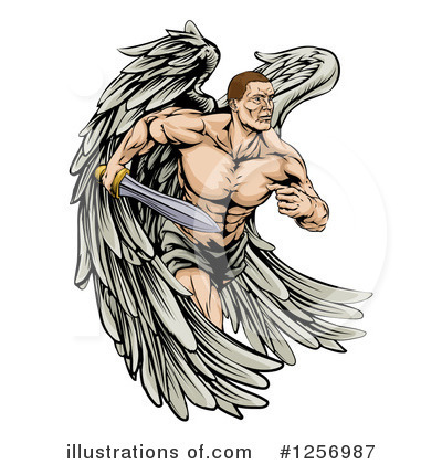 Guardian Angel Clipart #1256987 by AtStockIllustration