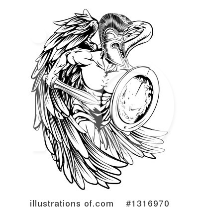 Guardian Angel Clipart #1316970 by AtStockIllustration