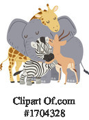Animals Clipart #1704328 by BNP Design Studio