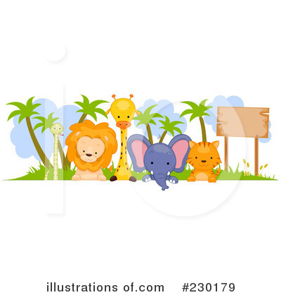Royalty-Free (RF) Animals Clipart Illustration by BNP Design Studio - Stock Sample #230179