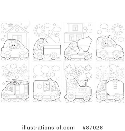 Fire Truck Clipart 1058920