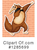 Anteater Clipart #1285699 by Graphics RF
