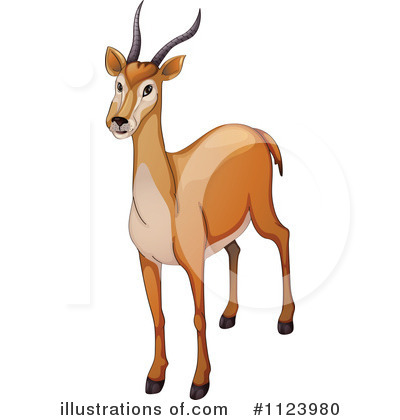 antelope clipart 1123980 illustration by graphics rf rh illustrationsof com antelope clipart antelope head clipart