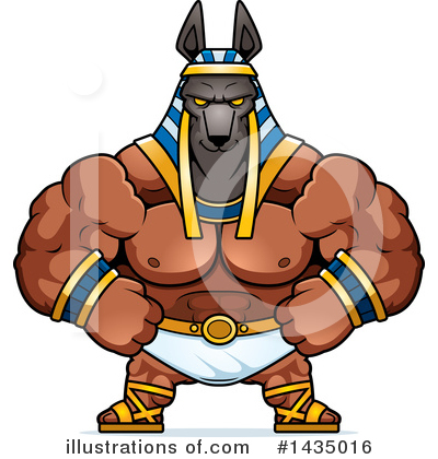 Royalty-Free (RF) Anubis Clipart Illustration by Cory Thoman - Stock Sample #1435016