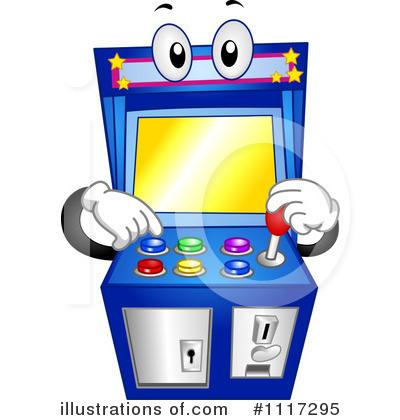arcade game clipart 1117295 illustration by bnp design studio rh illustrationsof com video arcade clipart arcade clipart