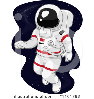 astronaut clipart 1101798 illustration by bnp design studio rh illustrationsof com