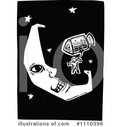Moon Clipart #1110396 by xunantunich