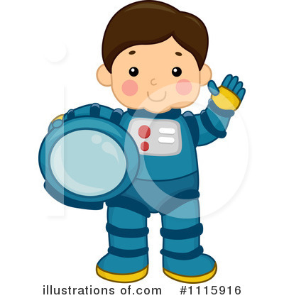 astronaut clipart 1115916 illustration by bnp design studio rh illustrationsof com Astronaut Illustration Free Clip Art Moon