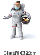 Astronaut Clipart #1711723 by Julos
