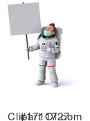Astronaut Clipart #1711727 by Julos