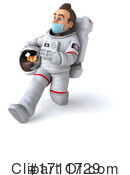Astronaut Clipart #1711729 by Julos