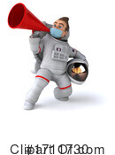Astronaut Clipart #1711730 by Julos