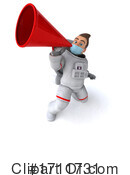 Astronaut Clipart #1711731 by Julos