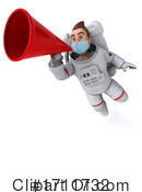 Astronaut Clipart #1711732 by Julos