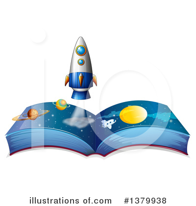 Open Book Clipart #1379938 by Graphics RF