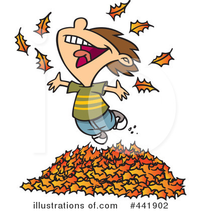 Royalty-Free (RF) Autumn Clipart Illustration by toonaday - Stock Sample #441902
