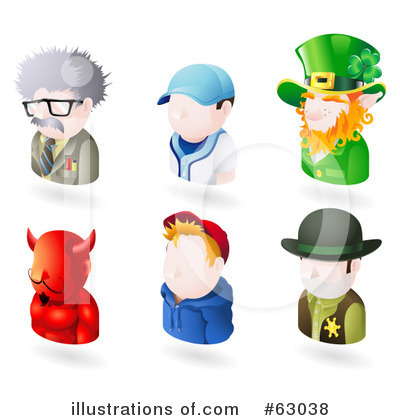 Leprechaun Clipart #63038 by AtStockIllustration