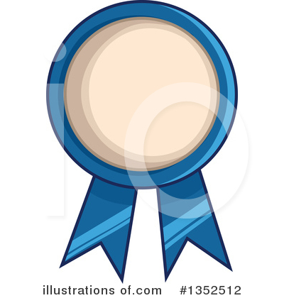 Award Ribbon Clipart #1352512 - Illustration by BNP Design Studio