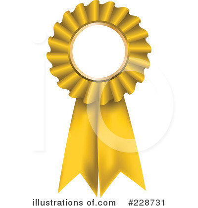 Award Ribbon Clipart #228731 - Illustration by KJ Pargeter