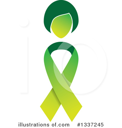 Awareness Ribbon Clipart #1337245 by ColorMagic