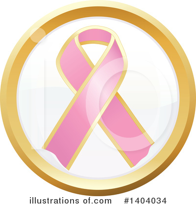 Breast Cancer Clipart #1404034 by inkgraphics