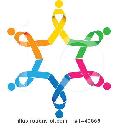Awareness Ribbon Clipart #1440666 by ColorMagic