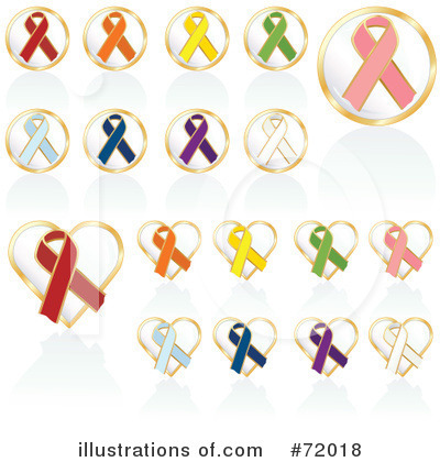 Awareness Ribbon Clipart #72018 by inkgraphics