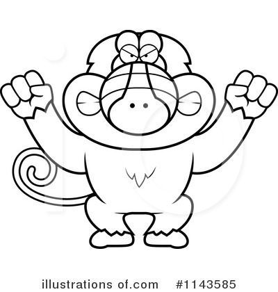 Baboon Clipart 1143585