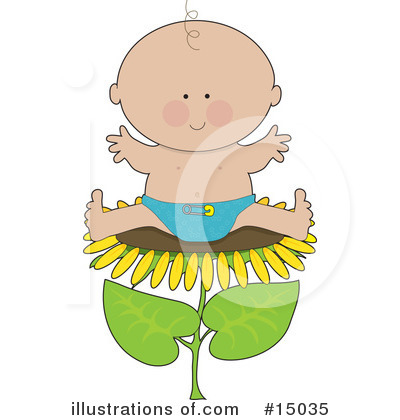 Baby Clipart #15035 by Maria Bell