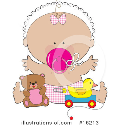 Baby Clipart #16213 by Maria Bell
