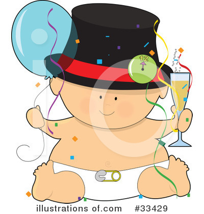 Baby Clipart #33429 by Maria Bell