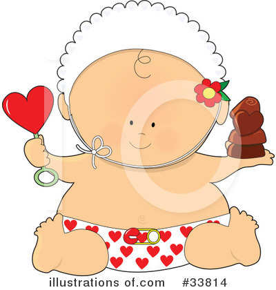 Baby Clipart #33814 by Maria Bell