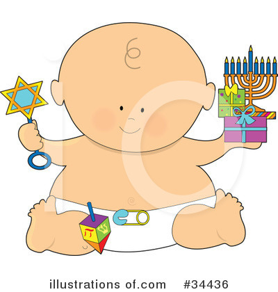 Royalty-Free (RF) Baby Clipart Illustration by Maria Bell - Stock Sample #34436