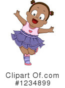 Baby Girl Clipart #1234899 by BNP Design Studio