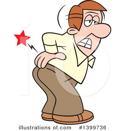 Back Pain Clipart 1399736 Illustration By Johnny Sajem