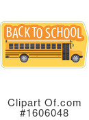 Back To School Clipart #1606048 by Vector Tradition SM