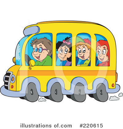 School Bus Clipart #220615 by visekart