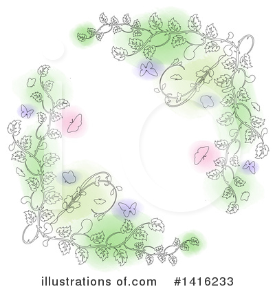 Spring Time Clipart #1416233 by KJ Pargeter