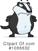 Badger Clipart #1087392 - Illustration by Cory Thoman