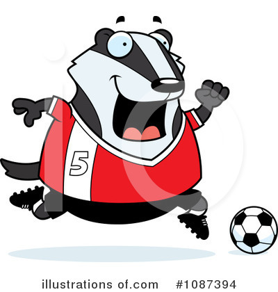 Badger Clipart #1087394 by Cory Thoman